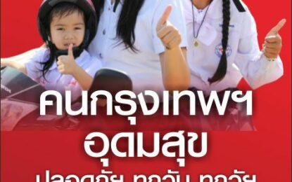 ขอชื่นชม คนอุดมสุข-กรุงเทพฯ (ร่วมเปลี่ยนแปลงประเทศไทย) สวมหมวกนิรภัย100% ทั้งคนขับและคนซ้อนท้าย