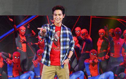 """ครั้งแรกในชีวิต """"เจมส์ จิรายุ"""" โชว์(ชุดสุดพิเศษ)  โซนี่ ประเทศไทย จัดหนักจัดเต็ม  งาน Spider-Man: Far From Home Thailand Gala Premiere"""