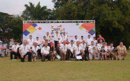 """ปิดฉากการแข่งขันสุนัขใช้งานสากล IGP 3 อย่างสวยงาม ตัวแทนนักกีฬาทีมชาติไทย ผ่านเข้ารอบชิงฯ คว้ารองชนะเลิศอันดับ 3 และ 4 มาครองได้สำเร็จ     นักกีฬาและชาวต่างชาติชื่นชม """"ประเทศไทย"""" จัดงานมีมาตรฐานสากลเทียบเท่าระดับโลก"""