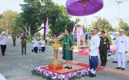 สมเด็จพระกนิษฐาธิราชเจ้า กรมสมเด็จพระเทพรัตนราชสุดาฯ สยามบรมราชกุมารี เสด็จพระราชดำเนินทรงเปิด อาคาร ๑๐๐ ปี สาธารณสุขไทย ณ โรงพยาบาลลำพูน อำเภอเมือง จังหวัดลำพูน