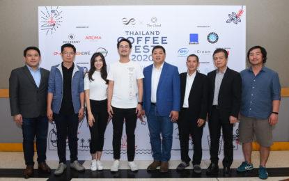 สุดยอดงานมหกรรมกาแฟที่ใหญ่ที่สุดในเซาท์อีสต์ เอเชีย Thailand Coffee Fest 2020 โชว์ศักยภาพอุตสาหกรรมกาแฟไทย ก้าวขึ้นเป็นแหล่งผลิตชั้นนำ ของอาเซียน