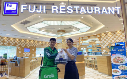 """""""ฟูจิ จับมือ แกร็บฟู้ด"""" ลด30% ส่งเมนู""""GrabFood Asian Week""""ถึงบ้านคุณ"""