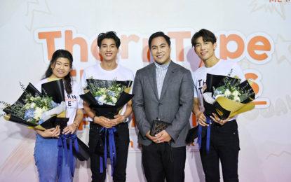 กอล์ฟ Hira Blue  และ เมย์ อรวรรณ ลุยเฟ้นหานักแสดงวัยรุ่น   THARNTYPE SS2 ธารไทป์ ซีซั่น 2 ชิงเงินรางวัล 4แสนบาท