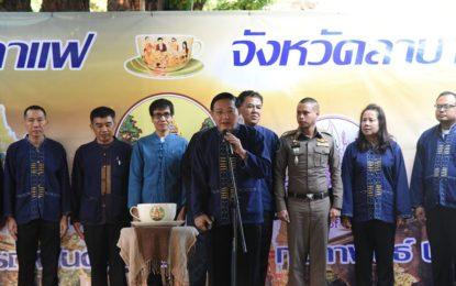 หน่วยงานสังกัดกระทรวงทรัพยากรธรรมชาติและสิ่งแวดล้อม กระทรวงอุตสาหกรรม กระทรวงคมนาคม และ บริษัท ปูนซิเมนต์ไทย (ลำปาง) จำกัด ร่วมเป็นเจ้าภาพจัดประชุมสภากาแฟ