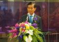 นายถาวร เสนเนียม รัฐมนตรีช่วยว่าการกระทรวงคมนาคม เปิดห้องรับรองพิเศษของการบินไทย ณ ท่าอากาศยานภูเก็ต
