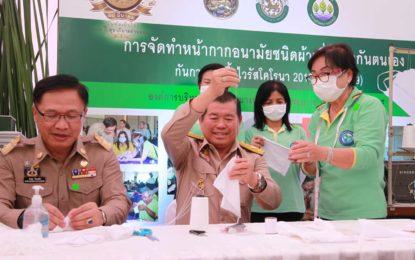 นิพนธ์ นำ ท้องถิ่น -ขร.มหาดไทย น้อมรำลึก 115 ปี วันท้องถิ่นไทย ที่ ท่าฉลอม จ.สมุทรสาคร ย้ำ ท้องถิ่นเป็นกลไกสำคัญแก้ไขปัญหาเร่งด่วนของชาติ
