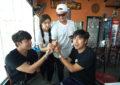 "Work from home หนีโควิด-19 อยู่บ้านไม่มีเหงา   แผนร้ายกำลังเริ่ม ""ฮั่น-จียอน-ว่าน-ว่านไฉ"" ร่วมมือแกล้งช่วย ""ตั้ม-โดม""!!  ในรายการ ""Tripping Thailand"" วันพฤหัสบดีที่ 2 พ.ค.นี้"