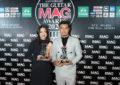 """14 รางวัลอันทรงเกียรติให้แด่ศิลปิน ทั้งเบื้องหน้า และเบื้องหลัง ในงาน """"The Guitar Mag Awards 2020 Real Awards for Real Artists""""    ภายใต้คอนเซ็ปต์ """"9 ไปด้วยกัน : Keep Walking Together""""  หนุ่ม-กะลา คว้ารางวัลนักร้องนำชาย ส่วน อิ้งค์-วรันธร คว้ารางวัลนักร้องนำหญิง ยอดเยี่ยมแห่งปี"""