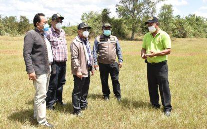 จังหวัดนครศรีธรรมราชเตรียมหญ้าแห้ง 2.4 แสนกิโลกรัม เพื่อช่วยเหลือเกษตรกรด้านปศุสัตว์ กรณีได้รับผลกระทบจากภัยแล้ง และโควิด-19