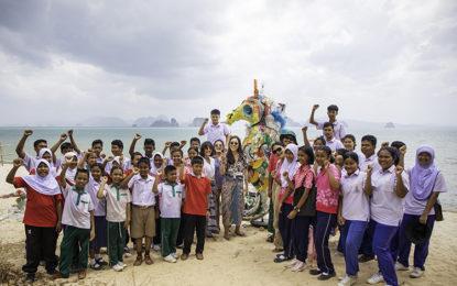 โรงแรมเคป กูดู สานฝันให้กับเยาวชนไทยบนเกาะยาวน้อย  จัดประกวดผลงานศิลปะจากขยะรีไซเคิล ชิงทุนการศึกษากับ KUDU GOES GREEN ครั้งที่ 2