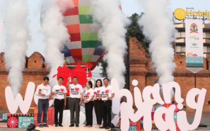"""เชียงใหม่เปิดตัวแบรด์ """"We Love Ching Mai"""" ดันธุรกิจท่องเที่ยวสู่ระดับโลก"""