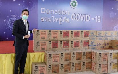"""""""ยูนิลีเวอร์ ประเทศไทย"""" บริจาคกว่า 40 ล้าน เพื่อ """"ฮีโร่ในโรงพยาบาล"""" สู้โควิด"""