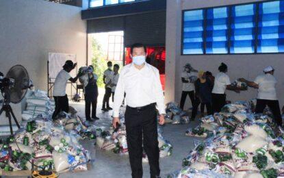 """""""ช่วยต่อเนื่อง""""       นิพนธ์ฯ เร่งจัดส่งถุงยังชีพให้ประชาชนสู้ภัยโควิดฯ ในจังหวัดชายแดนใต้ หลายอำเภอ ในจ.ยะลา และจ.นราธิวาส"""