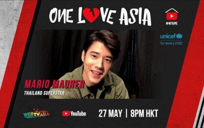 กระหึ่มโลกออนไลน์กับปรากฏการณ์ไลฟ์คอนเสิร์ตการกุศล One Love Asia นำทีมโดยมาริโอ้, ใหม่ ดาวิกา, BNK48, ไอซ์ พาริส และแพรวา ณิชาภัทร รับชมผ่านแอป Lazada วันพุธที่ 27 พ.ค. นี้ 1 ทุ่มตรง