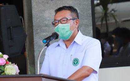 สำนักงานสาธารณสุขจังหวัดสงขลา ขอความร่วมมือผู้ประกอบการตลาด ซุปเปอร์มาร์เก็ต ร่วมป้องกันโรคโควิด-19 อย่างเคร่งครัด