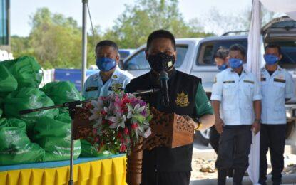 รัฐมนตรีว่าการกระทรวงทรัพยากรธรรมชาติและสิ่งแวดล้อม ลงพื้นที่ติดตามความคืบหน้า โครงการสวนพฤกษศาสตร์ป่าชายเลนนานาชาติ ร.๙ บ้านเสม็ดงาม จ.จันทบุรี คาดแล้วเสร็จสมบูรณ์ปี 2566