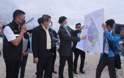 นิพนธ์ฯ นำ องค์การจัดการน้ำเสีย ลงพื้นที่คลองสำโรง-หาดเก้าเส้ง จ.สงขลา เร่งติดตามแก้ไขปัญหาน้ำเสีย หวัง ฟื้นฟูคืนสภาพโดยเร็ว