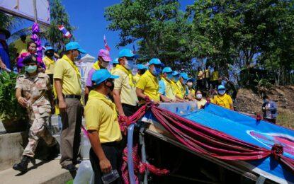 สุรินทร์ปล่อยพันธุ์ปลาน้ำจืด 120,034 ตัว เฉลิมพระเกียรติสมเด็จพระนางเจ้าฯ พระบรมราชินี เนื่องในโอกาสวันพระราชสมภพ วันที่ 3 มิถุนายน 2563