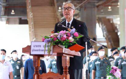สภากาชาดไทย เปิดโครงการครัวพระราชทาน อุปนายิกาผู้อำนวยการสภากาชาดไทย ที่สถานีรถไฟขอนแก่น