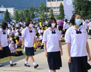 สพม.14 ลงพื้นที่ ติดตาม ตรวจเยี่ยมโรงเรียนเปิดภาคเรียนเน้นย้ำมาตรการป้องกันการแพร่ระบาด COVID-19
