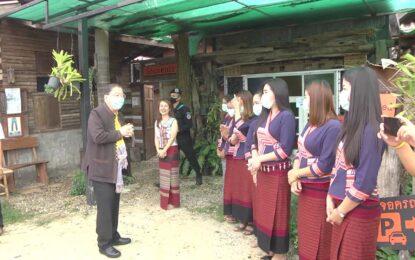 คณะกรรมการโครงการสมาชิกวุฒิสภาพบประชาชนฯ เดินทางลงพื้นที่ อ.ภูซาง จ.พะเยา พบปะประชาชน พร้อม เตรียมผลักดันสินค้า OTOP และติดตามคืบหน้าการบริหารจัดการด่านถาวรบ้าน ฮวก