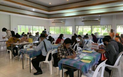จัดหางานจังหวัดลำพูน จัดงาน นัดพบแรงงาน ประชารัฐร่วมใจ ให้คนไทยก้าวผ่านวิกฤติ COVID 19