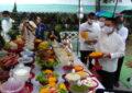 รัฐมนตรีว่าการกระทรวงทรัพยากรธรรมชาติฯ ลงพื้นที่สวนรุกขชาติเชตวัน ทำพิธีถวายเครื่องบัตรพลีบูชาเทวดาอารักษ์ประจำเมืองแพร่