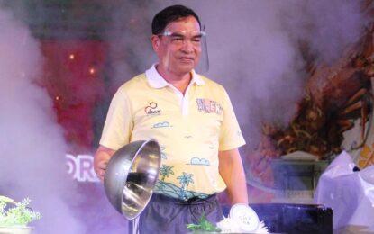 พิเชษฐ์ ฯ  รองผู้ว่าราชการจังหวัดภูเก็ต   ร่วมพิธีเปิดงาน Amazing Thai Taste @Phuket