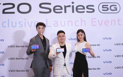 Vivo เปิดตัว V20 ซีรีส์ ครั้งแรกในไทย มอบเทคโนโลยีกล้องหน้าชั้นนําของวงการในมือคุณ พร้อมเทคโนโลยีการถ่ายเซลฟีขั้นสูง ดีไซน์สุดบางเบา และประสิทธิภาพลื่นไหลทรงพลัง