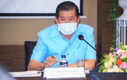 นิพนธ์ ฯมท.2  บุญญามณี รัฐมนตรีช่วยว่าการกระทรวงมหาดไทย เป็นประธานการประชุมระดมความคิดเห็น เพื่อติดตามผลการดำเนินการตามแผนพัฒนาจังหวัดและกลุ่มจังหวัดภาคใต้ฝั่งอ่าวไทยและภาคใต้ชายแดน