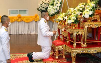 """จังหวัดขอนแก่น ประกอบพิธีวันที่ระลึกพระบาทสมเด็จพระจอมเกล้าเจ้าอยู่หัว """"พระบิดาแห่งวิทยาศาสตร์ไทย"""""""