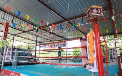 สำนักงานการกีฬาแห่งประเทศไทย ร่วมกับสำนักงานสาธารณสุขจังหวัดสงขลา และเจ้าหน้าที่ที่เกี่ยวข้อง ลงพื้นที่ตรวจสอบติดตาม แนะแนวทางการปฎิบัติสำหรับผู้จัดการแข่งขันกีฬามวย เพื่อป้องกันการแพร่ระบาดของโรคติดเชื้อไวรัสโควิด – 19 ด้านการแข่งขันแบบมีผู้ชม
