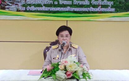 """""""จังหวัดพัทลุง ประชุมเพื่อรับฟังความคิดเห็นต่อผลการศึกษาการเพิ่มประสิทธิภาพการจัดการพื้นที่ชุ่มน้ำของประเทศไทย"""""""