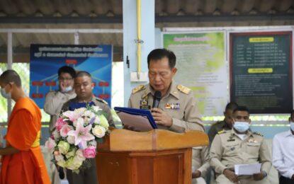 ประธานกรรมการขับเคลื่อนโครงการสร้างความปรองดองสมานฉันท์โดยใช้หลักธรรมทางพระพุทธศาสนา หมู่บ้านรักษาศีล 5 พร้อมด้วยคณะกรรมการเดินทางลงพื้นที่ตรวจเยี่ยม และติดตามผลการดำเนินงานที่จังหวัดระนอง