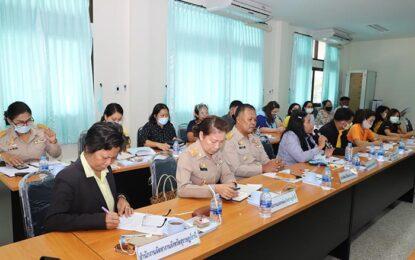 จ.สุราษฎร์ธานีประชุมส่งเสริมการจ้างงานใหม่สำหรับผู้จบการศึกษาใหม่โดยภาครัฐ และภาคเอกชน (Co-Paymen)