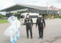 ภารกิจรับคนน่านผู้ป่วยโควิดกลับบ้านอย่างปลอดภัย โดยเครื่องบินลำเลียงแบบ 295 ของกองทัพบก เที่ยวบินที่ 2