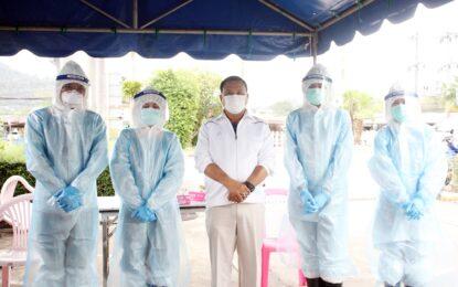 เรวัตฯอบจ.ภูเก็ต  สร้างมิติใหม่ เป็น อบจ.แห่งแรกในประเทศไทย ที่ขอความร่วมมือให้ คณะผู้บริหาร-สจ.-ข้าราชการ-สื่อมวลชน ที่จะเข้าร่วมประชุมสภา วันที่ 2 ส.ค.นี้ ตรวจหาผลโควิด-19 ผลเป็นลบทั้งหมด