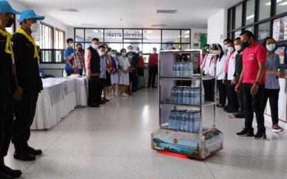 ว.สารพัดช่าง กาฬสินธุ์ ส่งมอบ หุ่นยนต์ KPC ROBOT 1 ช่วยงานหมอ พยาบาล รพ.กาฬสินธุ์