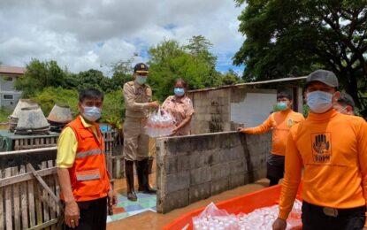 สถานการณ์น้ำท่วม อำเภอนครไทย จังหวัดพิษณุโลก เข้าสู่ภาวะปกติ ราษฏรได้รับการช่วยเหลือ