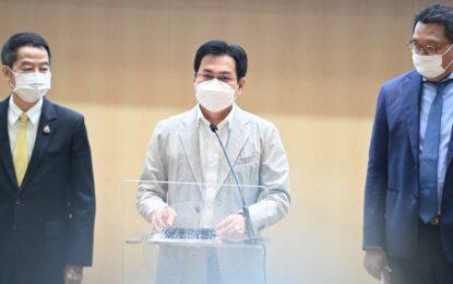 """จุรินทร์ ชู """"จับคู่กู้เงิน"""" ช่วยร้านอาหาร กับ SMEs ส่งออก """"ฝ่าโควิด"""" กว่า 6,000 ล้านบาท"""