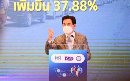 """""""จุรินทร์""""โชว์ 4 วิชั่น นำเศรษฐกิจไทย ฝ่าวิกฤตโควิดโลก ชี้เอกชนต้องทำกำไรให้ธุรกิจ แต่กระทรวงพาณิชย์ต้องทำกำไรให้ประเทศ"""