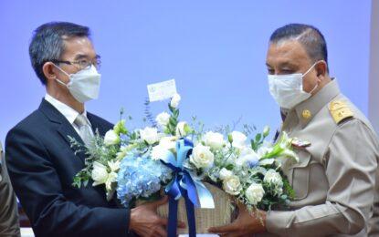 #เรวัตฯนายกอบจ.ภูเก็ตและคณะทำงาน  แสดงความยินดีกับ #นพ.บัญชา ค้าของ ผู้เชี่ยวชาญด้านระบบสาธารณสุข ในโอกาสเข้ารับตำแหน่ง รองประธานคณะกรรมการบริหารโรงพยาบาล อบจ.ภูเก็ต และที่ปรึกษาพิเศษนายก อบจ.ภูเก็ต